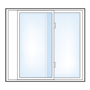 5500-2-Lite-Slider-Window